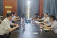 温州市贸促会会长苏立盛、副会长宋金理走访调研2021温州国际泵阀展参展企业